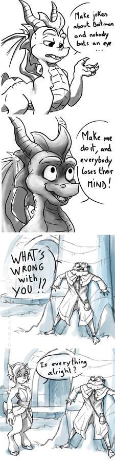 Spyro says to Nido 2