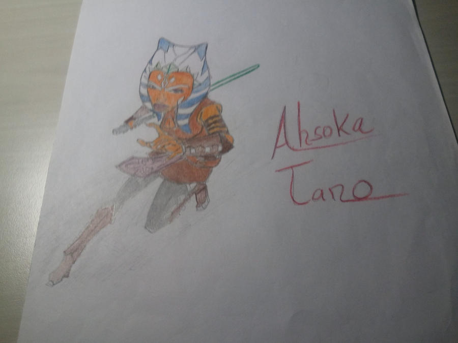My Sketch Of Ahsoka Tano By FORCEMATION On DeviantArt