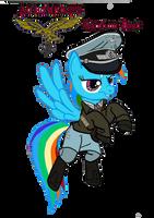 Rainbow Dash  (luftwaffe Uniform) vector by ImperialAce