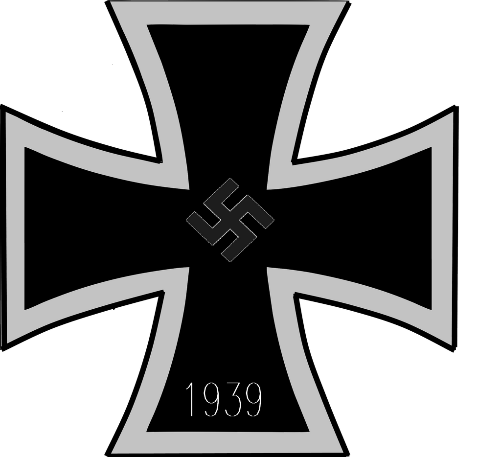 It is a picture of Satisfactory Iron Cross Drawing