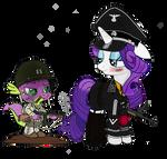 SS Haupsturmfuhrer Rarity and Captain Spike