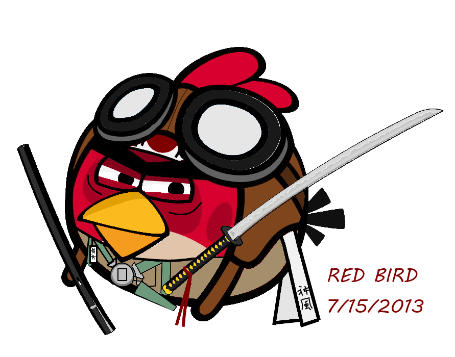 Red Bird ( Japanese pilot) by ImperialAce