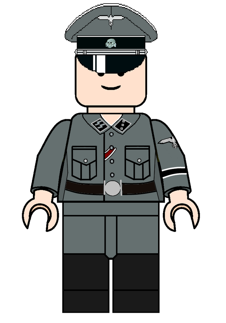 Lego Waffen Ss Officer Template By Forcemation On Deviantart