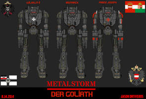 METAL STORM: Diesel punk DER GOLIATH by ImperialAce