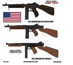METAL STORM: SMG M1A1 Thompson (Tommy Gun)