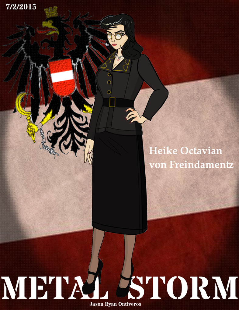 Re: METAL STORM: Heike Octavian von Freindamentz by fORCEMATION