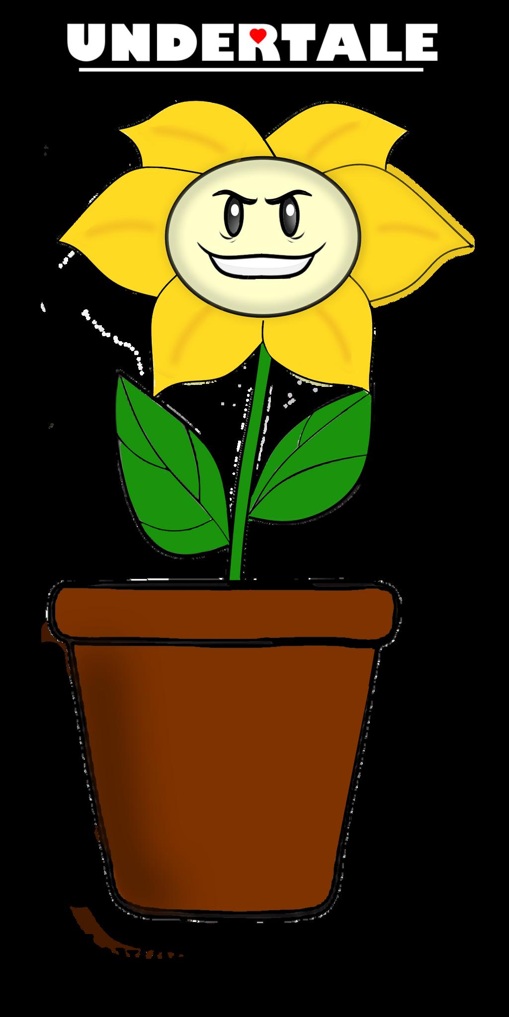 Undertale Flowey the Flower by fORCEMATION on DeviantArt