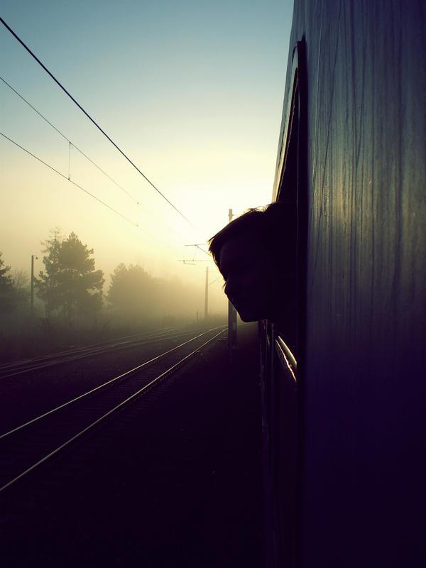 train walk 02 by ReadItOnMyEyes