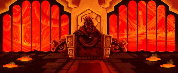 dwarven throne room
