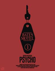 Psycho by Mr-Bluebird