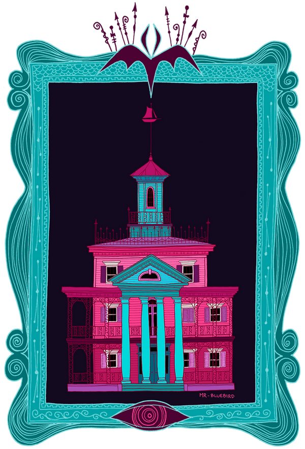 New Orleans Mansion by Mr-Bluebird