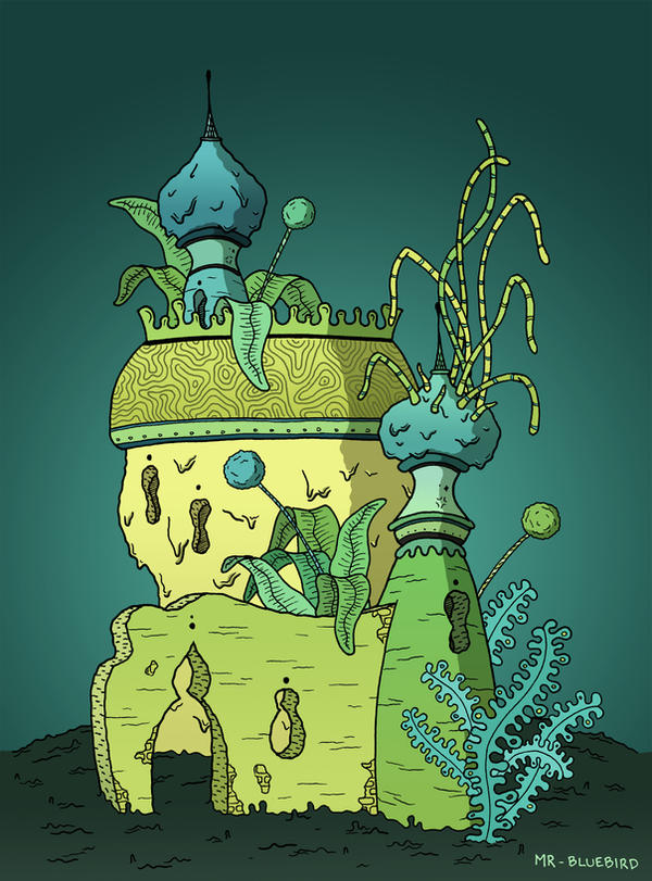 Sprout Castle by Mr-Bluebird