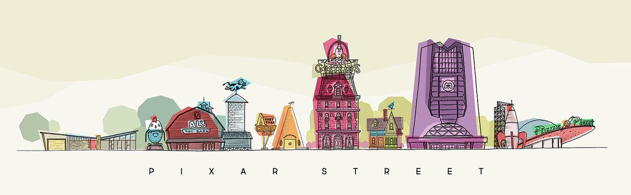 Pixar Street