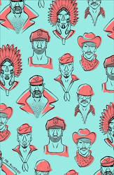 Village People Pattern