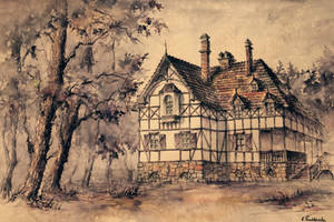 Hunting House by GrimDreamArt