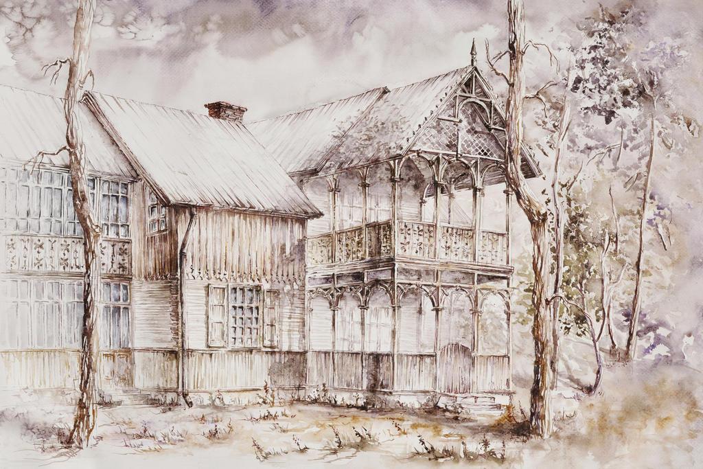 House 1 by GrimDreamArt