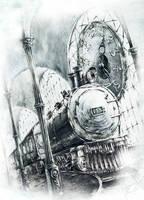 Train by GrimDreamArt