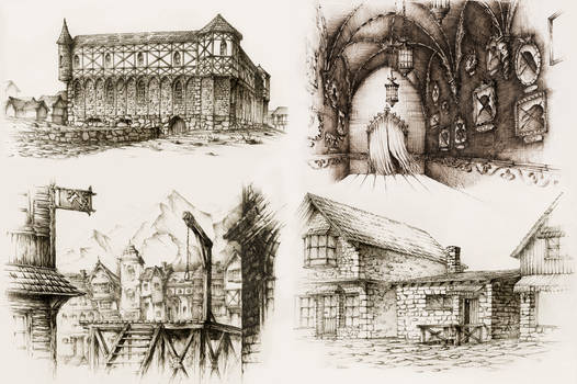 Pen Buildings