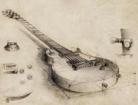 Guitar - vintage style