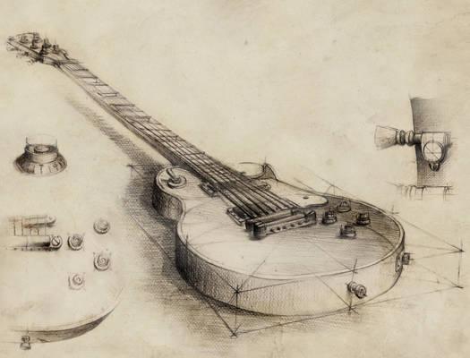 Guitar - vintage style