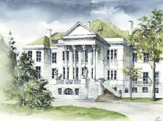 Old School by GrimDreamArt