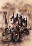 Steampunk Hearse