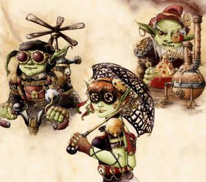 Steampunk Goblins