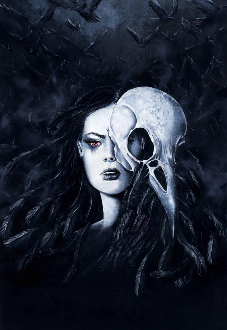 Raven Queen by GrimDreamArt