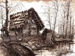 Slavic Hut