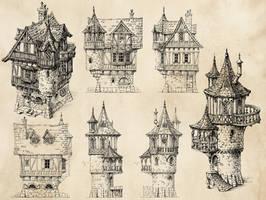 Fantasy Houses