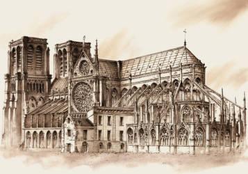 Notre Dame by GrimDreamArt