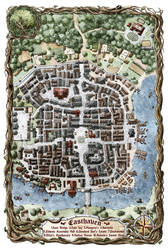 Easthaven Map