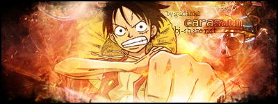 Sign Monkey D. Luffy by gudaniel