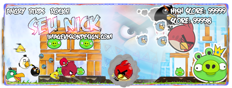 Signature Angry Birds by gudaniel