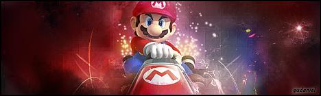 Mario Kart Signature by gudaniel