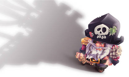 Capitain Pirate Hd by Pixelalunettes