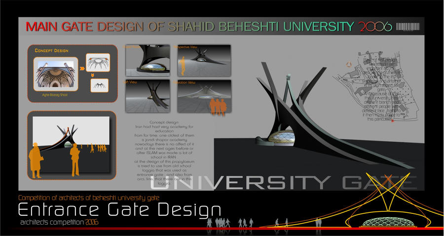 Architecture Sheet: Architectural Sheet Design 5 By