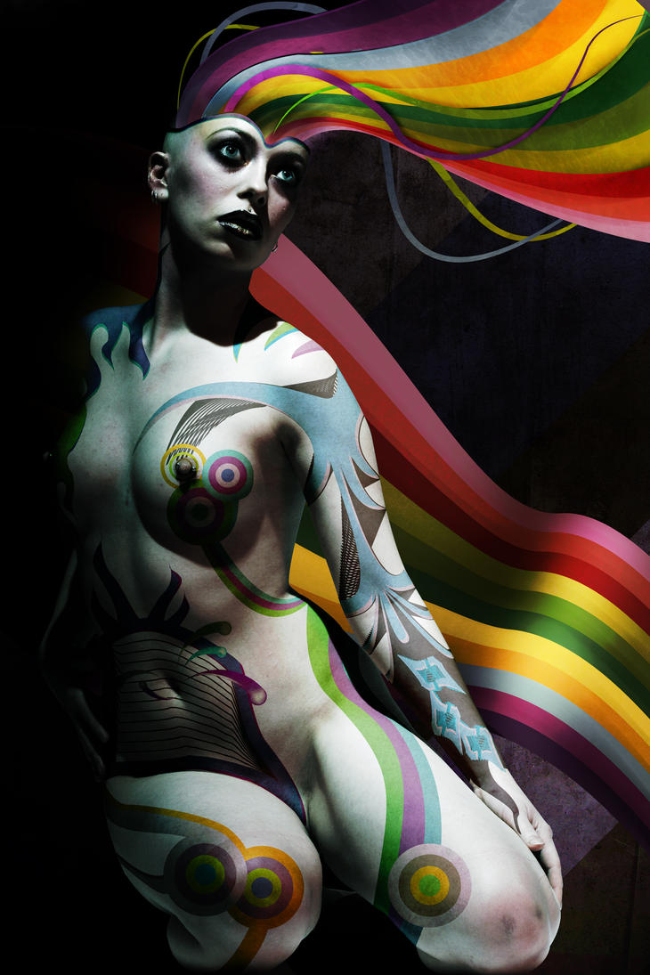 body paint2 by Misanthropics