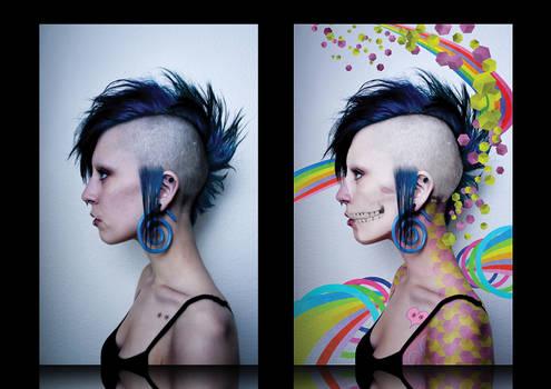 punk colors