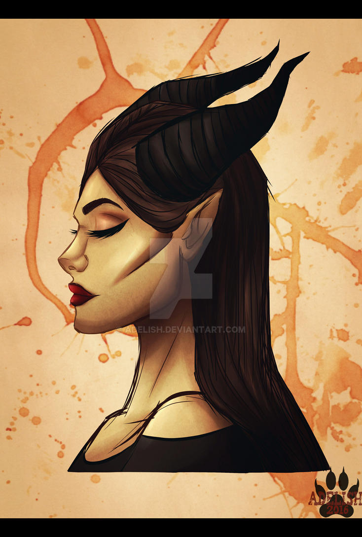 Maleficent concept by Adelish