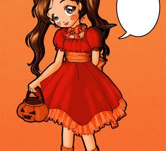 Halloween'08-I'mLate,I know by Himeko-Yami
