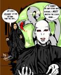 The death of Severus Snape by mrinal-rai