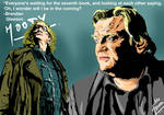 Brendan Gleeson- the 'Mad Eye' moody by mrinal-rai