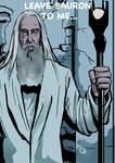 Saruman from Hobbit - Battle of Five Armies by mrinal-rai
