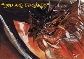 Smaug - the stupendous by mrinal-rai