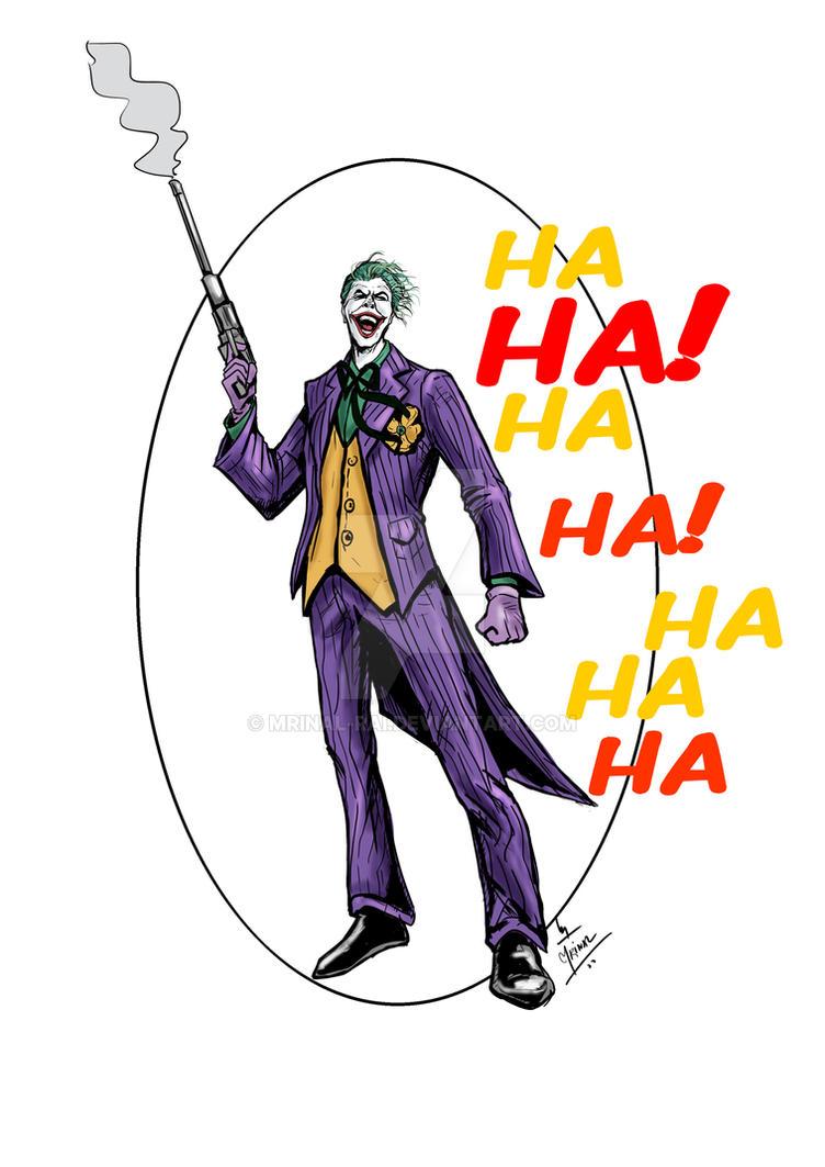 The Joker by mrinal-rai