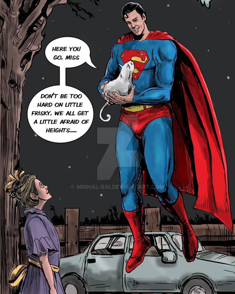 Superman by mrinal-rai