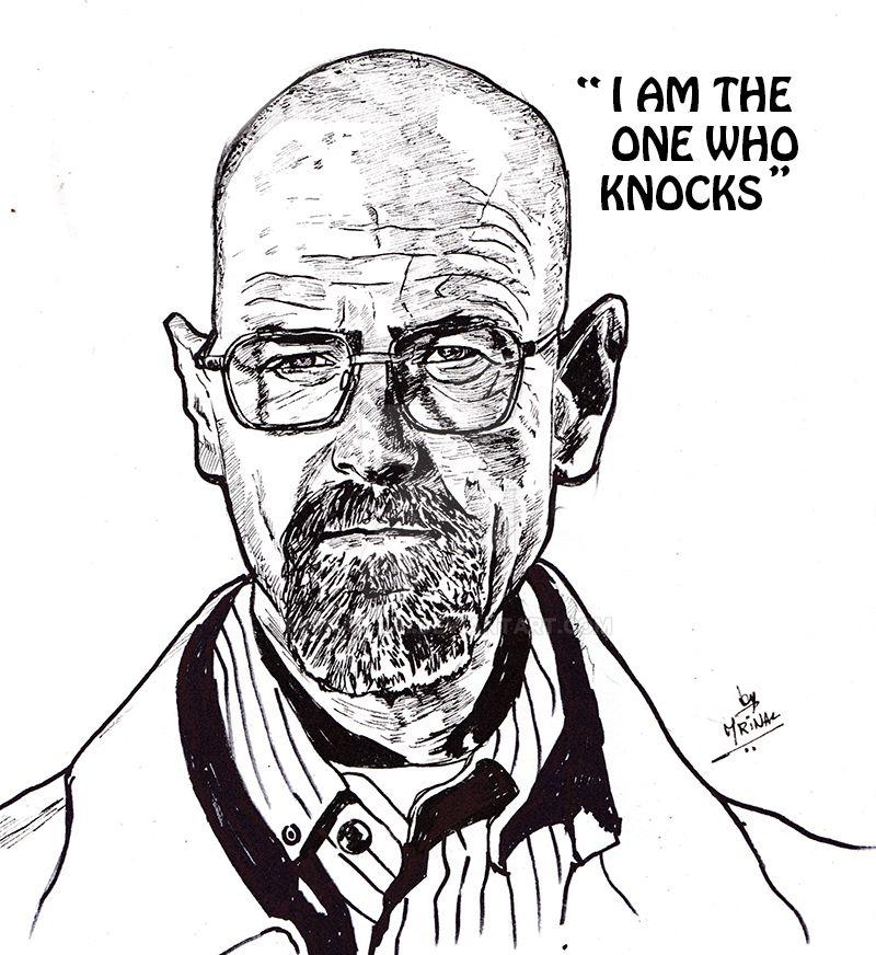 Walter White aka Heisenberg by mrinal-rai
