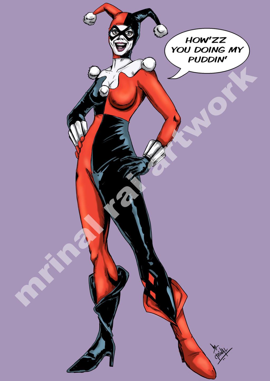 Harley Quinn by mrinal-rai