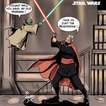 Count Dooku vs Master Yoda